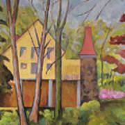 House Of Clara Barton Art Print