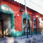 House Of El Hatillo Art Print