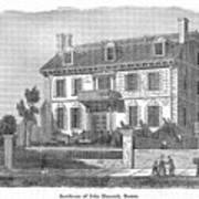 House Of John Hancock Art Print