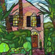 House Of Pink Art Print