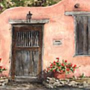 House On Delgado Street Art Print