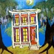 House On Esplanade  Art Print
