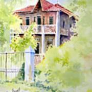 House On Jones Street Art Print