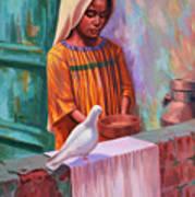 House Pigeon Art Print