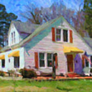 House Proud In Cary Art Print