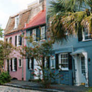 Houses In Charleston Sc Art Print