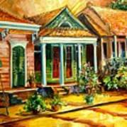 Houses In The Marigny Art Print