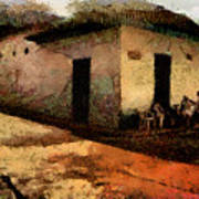 Houses Of Choroni Art Print
