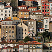 Houses Of Porto In Portugal Art Print