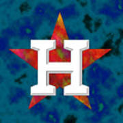 Houston Astros Logo Art Print