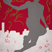 Houston Rockets Art Print
