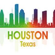 Houston Tx Art Print