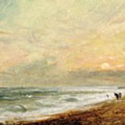 Hove Beach Print by John Constable