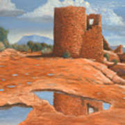 Hovenweep Reflection Art Print