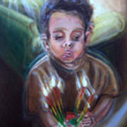 How Many Candles Is That? Art Print