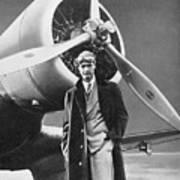 Howard Hughes, Us Aviation Pioneer Art Print