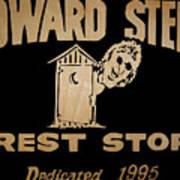 Howard Stern Rest Stop Art Print