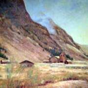 Howardsville Colorado Art Print by Evelyne Boynton Grierson