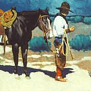 Howdy Ole Friend Art Print