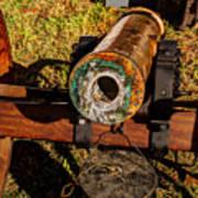 Howitzer Battle Of Honey Springs Art Print