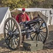 Howitzer Battle Of Honey Springs V3 Art Print