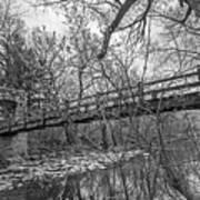 Hoyt Park Pedestrian Bridge Art Print
