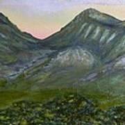 Huachuca Moutians Art Print