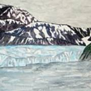 Hubbard Glacier In July Art Print