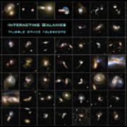 Hubble Galaxy Poster Art Print