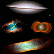 Hubble Greatest Hits Art Print