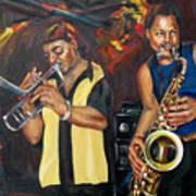 Hud N Lew/ The Daddyo Brothers Art Print