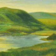 Hudson From Toll House Trail Art Print