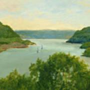 Hudson River From Bear Mt. Art Print