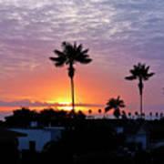 Hued Sunset  Art Print