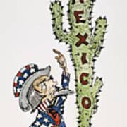 Huerta: Cartoon, C1914 Art Print