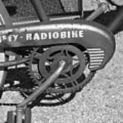 Huffy Radio Bike Art Print