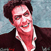Hugh Grant Art Print