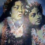 Hula Kaika Ma Hine Art Print