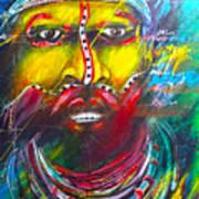 Huli Art Print