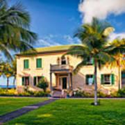 Hulihe'e Palace, Kona, Big Island Hawaii Art Print
