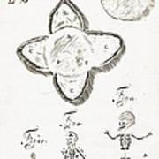 Human Embryo Development, 1685 Art Print