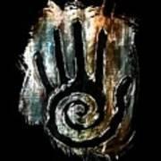 Humanity Native Symbol Art Print