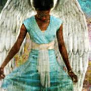 Humble Angel Art Print