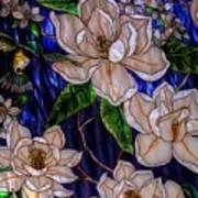 Hummingbird Stained Glass Art Print
