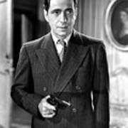 Humphrey Bogart As As Gangster Gloves Donahue All Through The Night 1941 Art Print