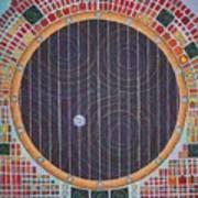 Hundertwasser Shuttle Window Art Print
