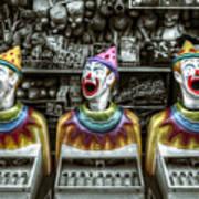 Hungry Clowns Art Print