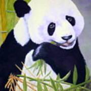 Hungry Panda Art Print