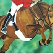 Hunter Jumper Art Print