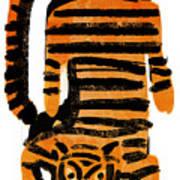 Hunting Tiger Art Print